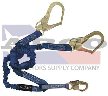 6' Double Leg Lanyard with Large Hooks