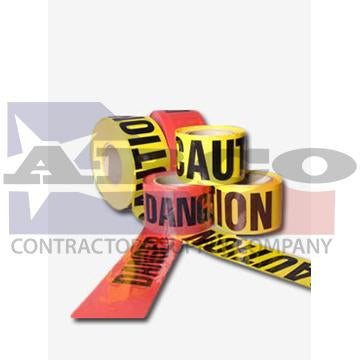 Reinforced Danger Tape 3