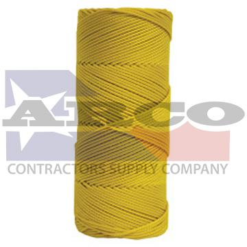 BC342 Braided Yellow Twine 500 ft
