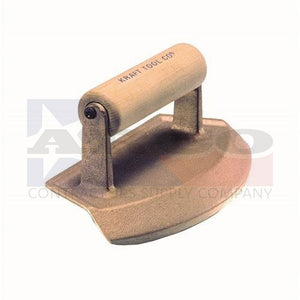 "CF388 48"" Diameter Chamfer Tube Bronze Edger with Wood Handle"