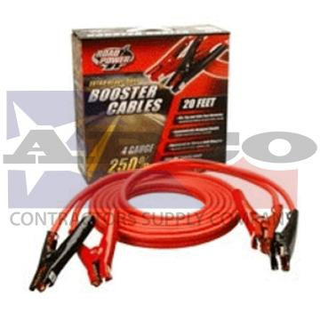 Jumper Cable, 4ga X 20'