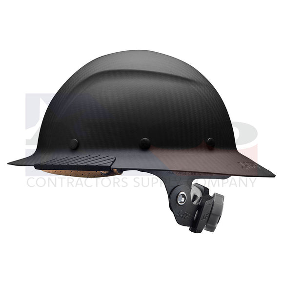 DAX Carbon Fiber Black Hard Hat | Matte
