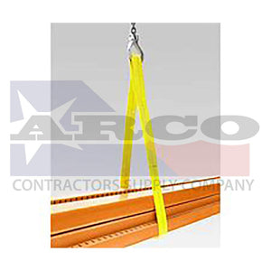 "2""x 4' (2Ply) Lifting Sling FEE"