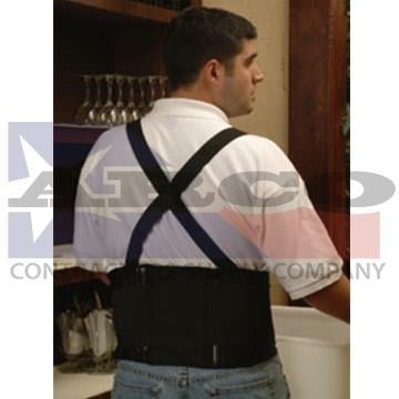 Large Back Belt with Suspenders