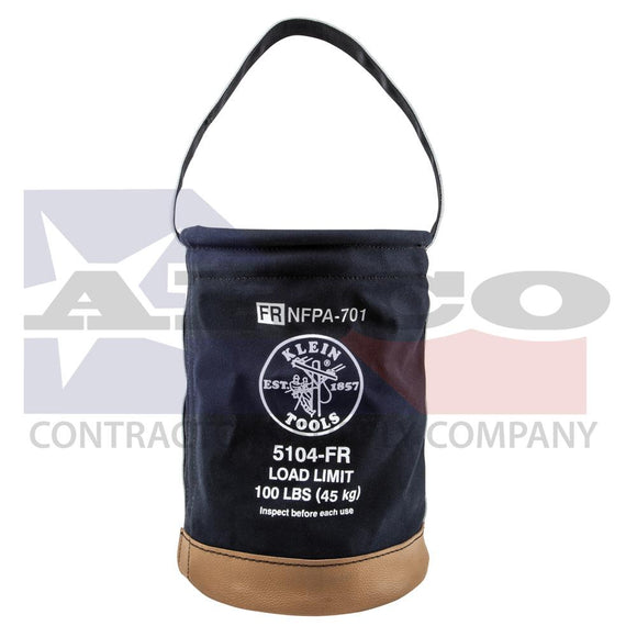 17 in. Flame Resistant Canvas Tool Bucket
