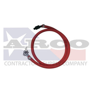 "5' Whip Hose with 3/8"" NPT Swivel End"