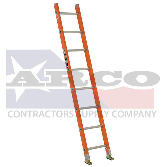 8' Fg Single Section Ladder