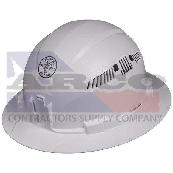 Hard Hat, Vented, Full Brim Style 60401