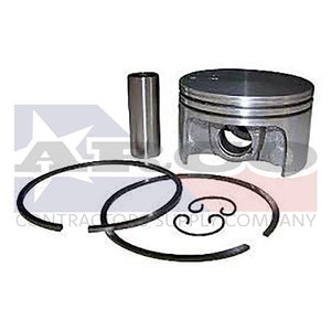 Piston with rings stihl br550