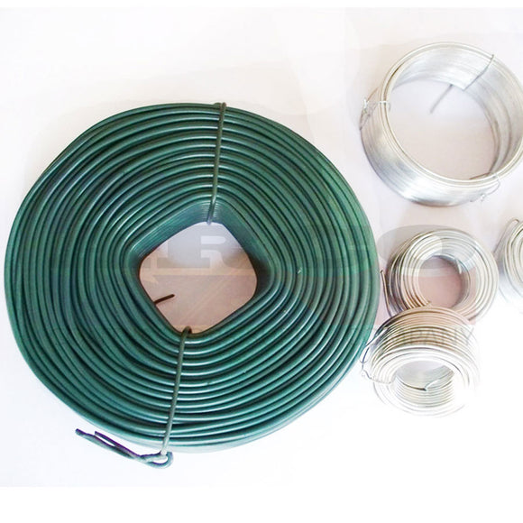 Roll of Green Box 16.5 Guage Tie Wire 3.5#