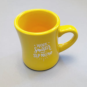 Work Smarter and SLP Now Mug
