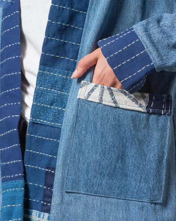 Noragi Denim Patchwork