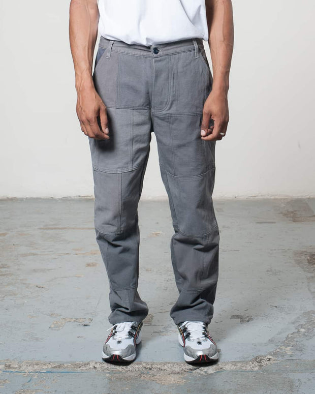 Overlord Upcycling Vintage | Grey Patchwork Trouser