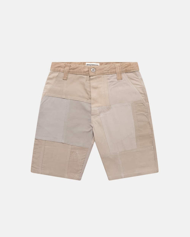 Mastic Patchwork Shorts