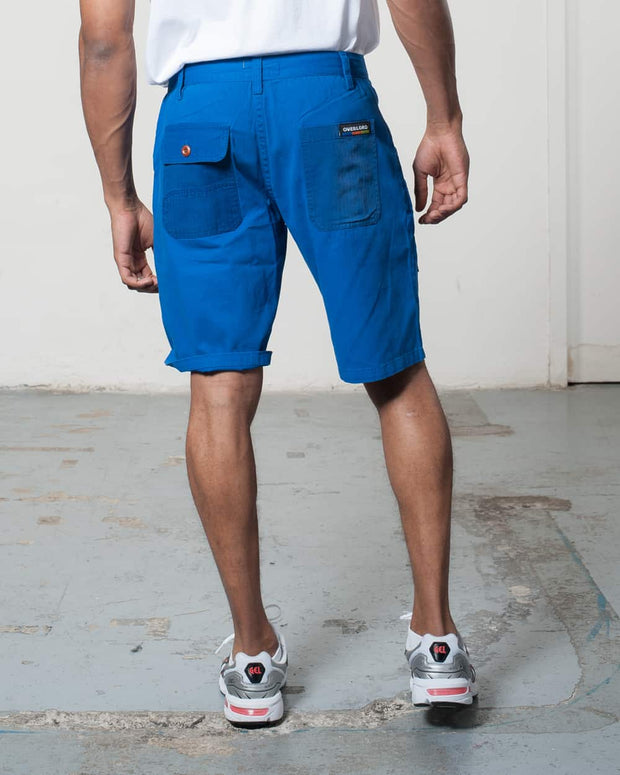 Blue Rework Shorts