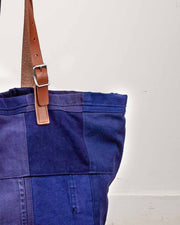 Overlord Upcycling Vintage | Blue Patchwork Bag