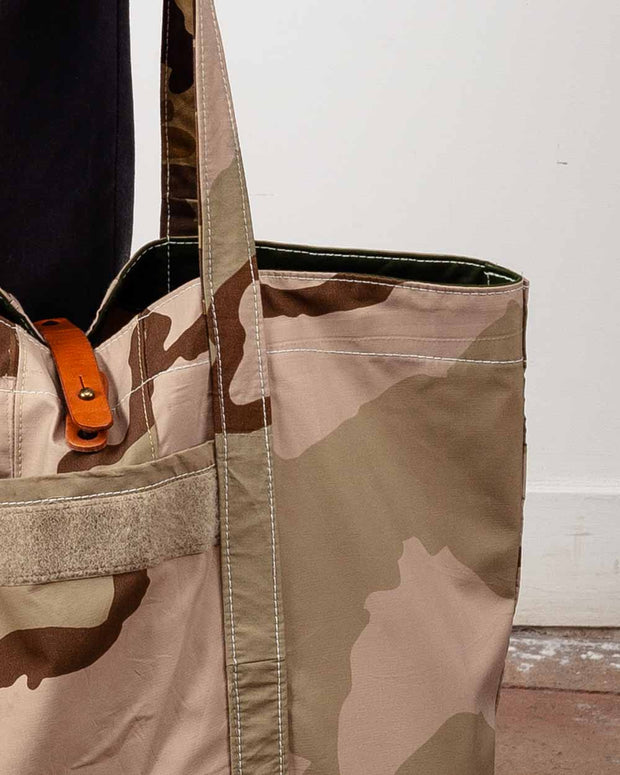 "Overlord Upcyncling Vintage • Desert Upcycled ""Goretex""  Tote Bag"