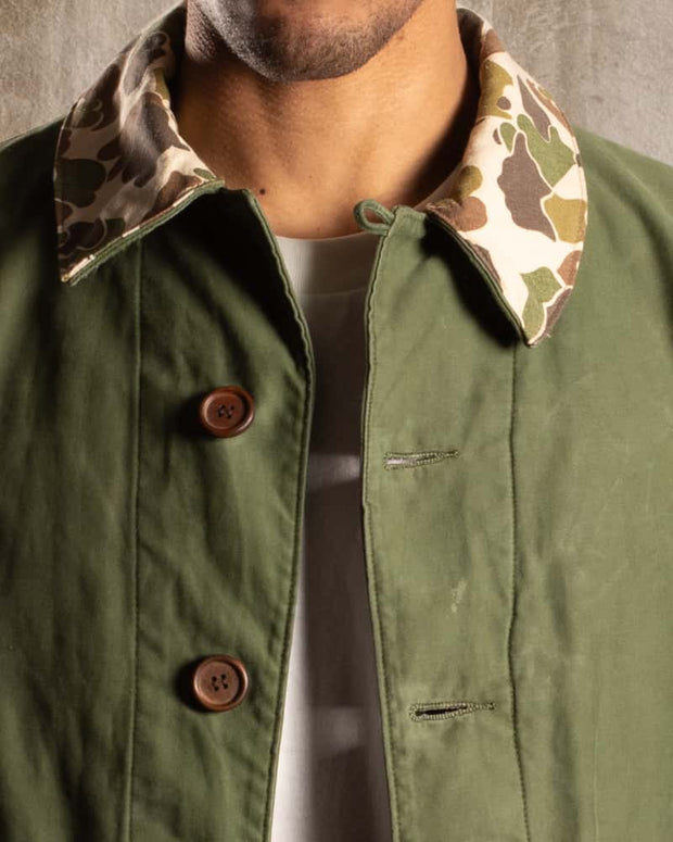 Overlord Upcycling Vintage | Swedish Jacket with Duck Camo