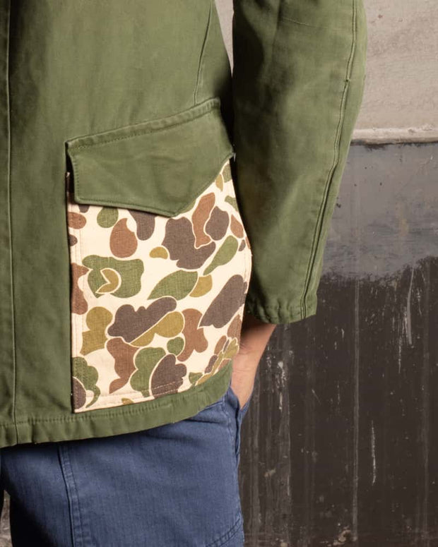 Overlord Upcycling Vintage • Swedish Jacket with Duck Camo