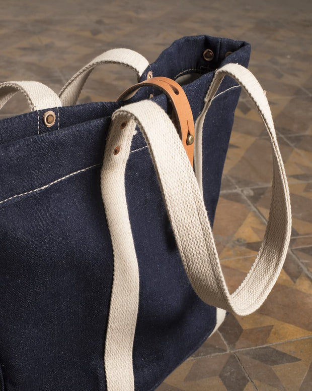 Overlord Upcycling Vintage • Janapese Denim Tote Bag