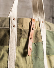Overlord Upcycling Vintage • Olive Army Patchwork Bag