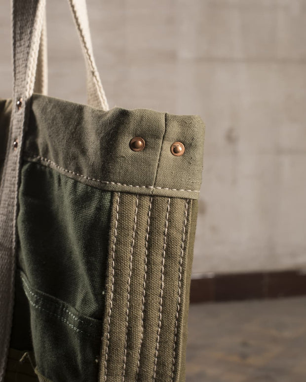 Sac Army Patchwork olive - OverLord Brand