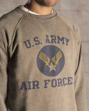 Overlord Upcycling Vintage • Olive US Army Air Forces Sweatshirt