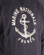 Sweat Marine Nationale Bleu - OverLord Brand