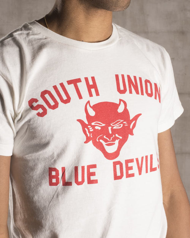 Overlord Upcycling Vintage • Blue Devils South Union T-Shirt