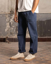 Overlord Upcycling Vintage | Military HBT Classic Pants OG107 - Blue