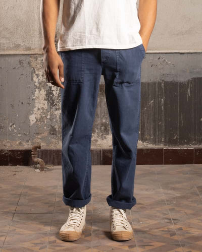 Military HBT Classic Pants OG107 - Blue - OVRLRD
