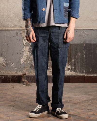 Overlord Upcycling Vintage • Classic United States Navy Pants - Denim