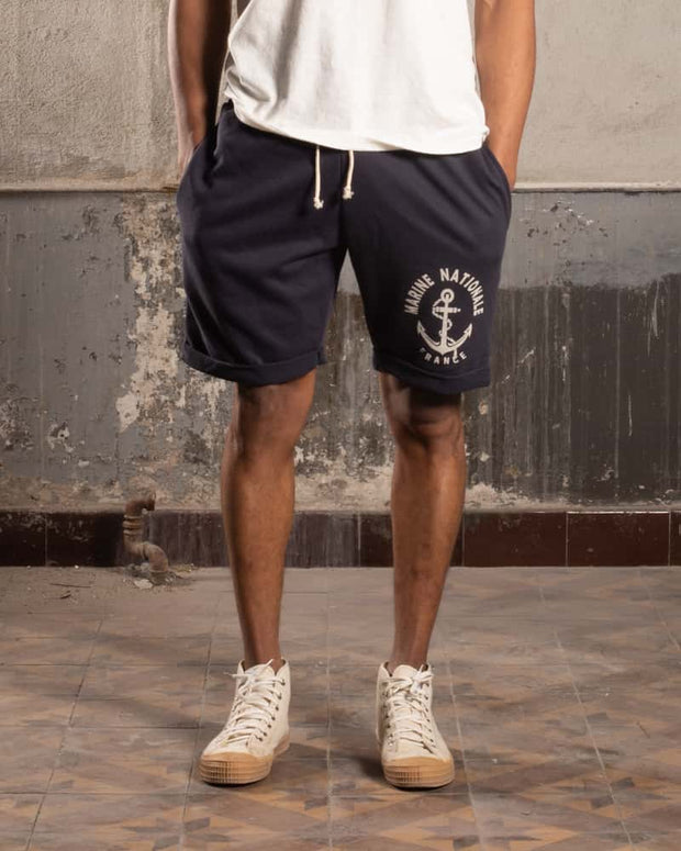 Overlord Upcycling Vintage | French Marine Nationale Shorts