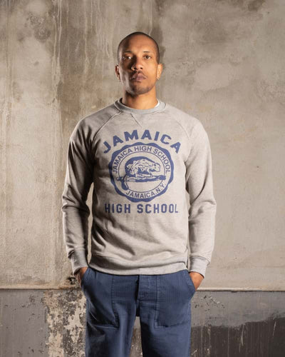 Overlord Upcycling Vintage • Jamaica High School Sweatshirt