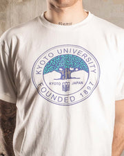 Overlord Upcycling Vintage | Kyoto University T-Shirt