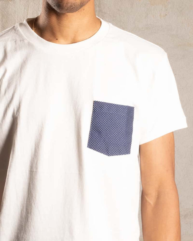 Overlord Upcycling Vintage • T-Shirt with upcycled dots pocket