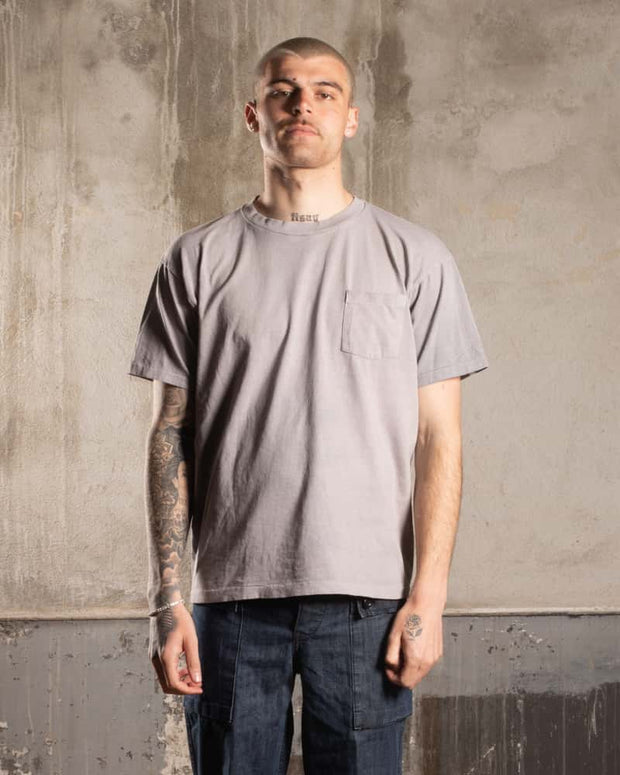 Overlord Upcycling Vintage | T-Shirt with pocket - Grey