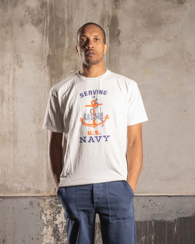 Overlord Upcycling Vintage • Serving US Navy T-Shirt