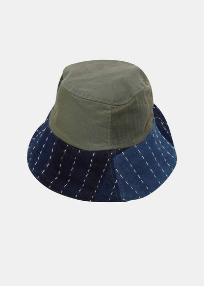 Military and Sashiko Bob Hat