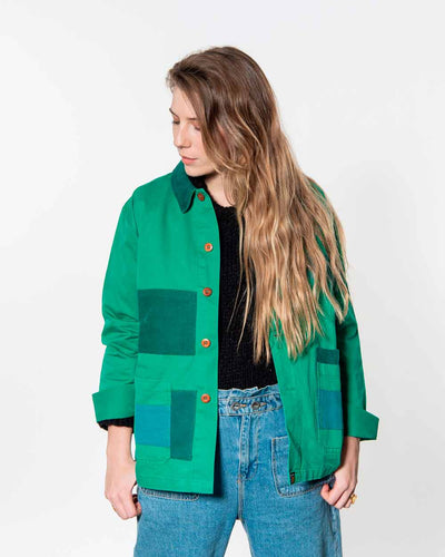 Overlord Upcycling Vintage | Green Rework Jacket