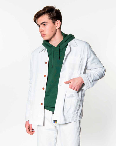 Overlord Upcycling Vintage | White Rework Jacket