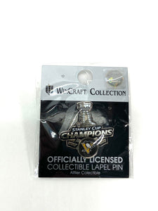 Pittsburgh Penguins NHL Stanley Cup Champions Trading Pin By Wincraft