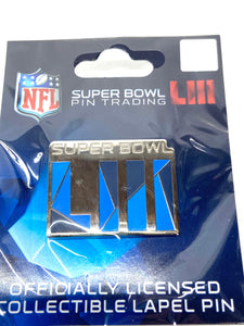 Super Bowl NFL Collectible Trading Pins By Wincraft