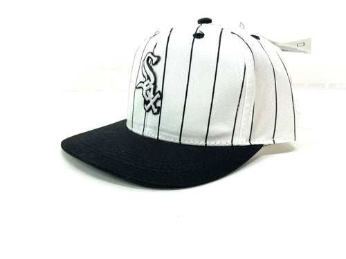 Chicago White Sox Vintage MLB Juvenile Twill Pinstripe Replica Cap By Fresh Caps