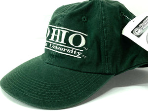 Ohio University Bobcats Vintage NCAA Fitted Unstructured Cap (New) By The Game