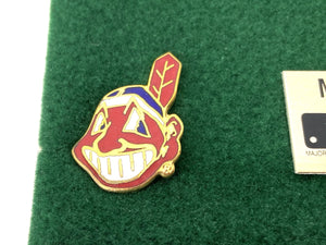 Cleveland Indians Vintage MLB 5-Piece Pin Set (New) By Peter David