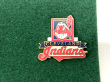Load image into Gallery viewer, Cleveland Indians Vintage MLB 5-Piece Pin Set (New) By Peter David