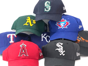 American League Vintage Late '90's MLB Replica Baseball Caps (New) by New Era