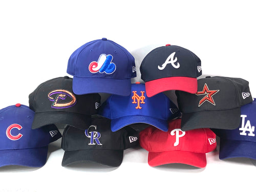 National League MLB Vintage Late '90's  Replica Baseball Caps (New) by New Era