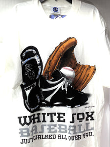 "Chicago White Sox Vintage 1996 MLB ""Just Walked All Over You"" (New) Tee by College Concepts"